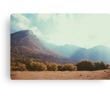 Mountains in the background V Canvas Print