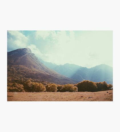 Mountains in the background V Photographic Print