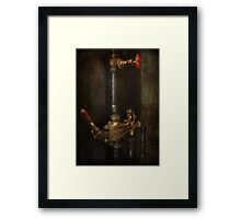 Steampunk - Plumbing - Number 4 - Universal  Framed Print