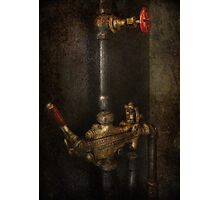 Steampunk - Plumbing - Number 4 - Universal  Photographic Print