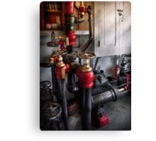 Steampunk - Plumbing - Turn the valve  Canvas Print