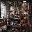 Steampunk - Room - Steampunk Studio by Mike  Savad
