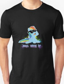 My Little Pony - MLP - Raindow Dash - Deal With It T-Shirt