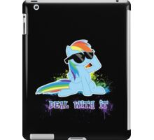 My Little Pony - MLP - Raindow Dash - Deal With It iPad Case/Skin