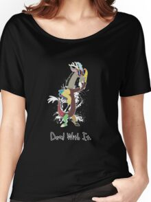 My Little Pony - MLP - Discord - Deal With It Women's Relaxed Fit T-Shirt