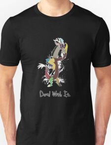 My Little Pony - MLP - Discord - Deal With It Unisex T-Shirt