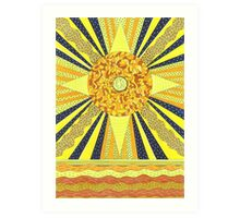 Sunday's Planet is the Sun Art Print