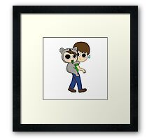So attached to you Framed Print