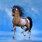 Buckskin Paint Stallion by LoneAngel