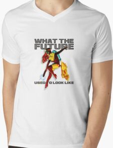 what the future used to look like Mens V-Neck T-Shirt