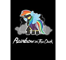 My Little Pony - MLP - Rainbow Dash - Shadowbolt - Rainbow in the Dark Photographic Print