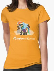 My Little Pony - MLP - Rainbow Dash - Shadowbolt - Rainbow in the Dark Womens Fitted T-Shirt