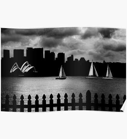 Sydney Sails Poster