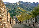 The Great Wall Series - at Mutianyu #8 by © Hany G. Jadaa © Prince John Photography