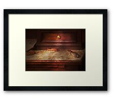 Dentist - False Teeth Framed Print