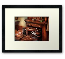 Dentist - Lab - Dental Laboratory  Framed Print