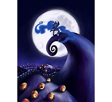 My Little Pony - MLP - Nightmare Before Christmas - Princess Luna's Lament Photographic Print