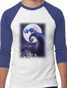 My Little Pony - MLP - Nightmare Before Christmas - Princess Luna's Lament Men's Baseball ¾ T-Shirt