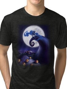 My Little Pony - MLP - Nightmare Before Christmas - Princess Luna's Lament Tri-blend T-Shirt