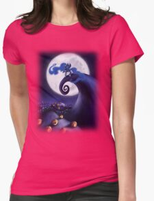 My Little Pony - MLP - Nightmare Before Christmas - Princess Luna's Lament Womens Fitted T-Shirt