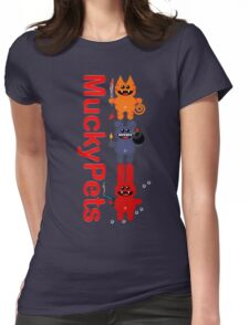 MUCKYPETS Womens Fitted T-Shirt