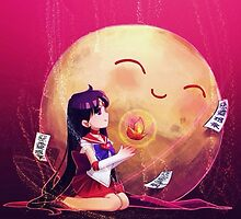 Sailor Mars - Sailor Moon by Optimistic  Sammich