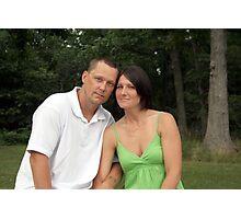 Tim & Amber Photographic Print