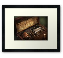 Doctor - For Nervouse Diseases  Framed Print