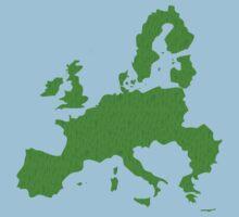 Europe full of happy smiley people Kids Tee
