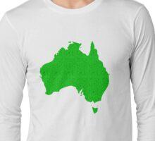 Australia full of happy, smiley people Long Sleeve T-Shirt