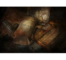 Doctor - WWII Emergency Med Kit Photographic Print