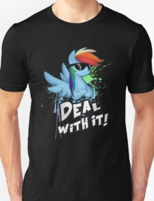 My Little Pony - MLP - Rainbow Dash - Deal With It T-Shirt