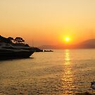 Sunset on a Greek Island by Braedene
