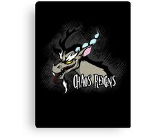 My Little Pony - MLP - Discord - Chaos Reigns Canvas Print