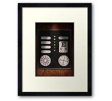 Optometrist - Optical Confusion Framed Print