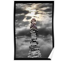 staircase to knowledge Poster