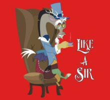 My Little Pony - MLP - Discord - Like a Sir One Piece - Short Sleeve