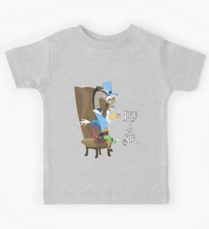 My Little Pony - MLP - Discord - Like a Sir Kids Tee
