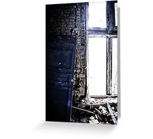 The Blue Door ~ Chateau Noisy Greeting Card