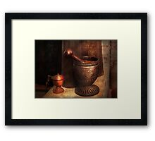 Pharmacy - Luxury Tools  Framed Print