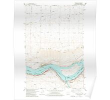 USGS Topo Map Washington Wishram 244772 1977 24000 Poster