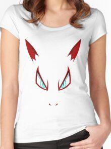 Pokemon - Zoroark Face Women's Fitted Scoop T-Shirt