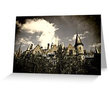 Un Chateau Belge Greeting Card