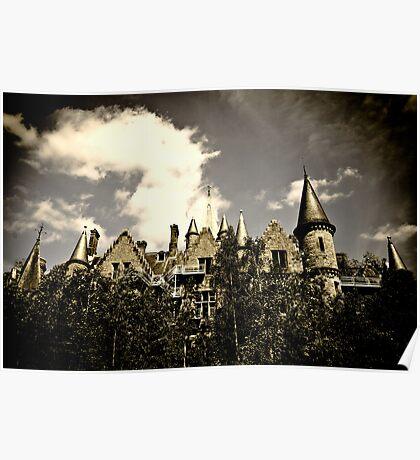 Un Chateau Belge Poster