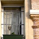 A Window with A Heart by Michele Filoscia