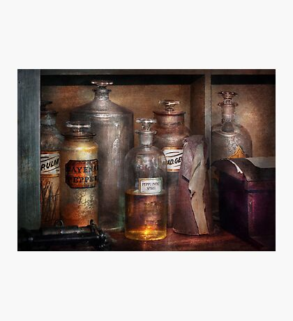 Pharmacy - That's the Spirit Photographic Print