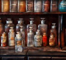 Pharmacy - The Chemistry Set by Mike  Savad