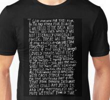 I HAD NO ROOM Unisex T-Shirt