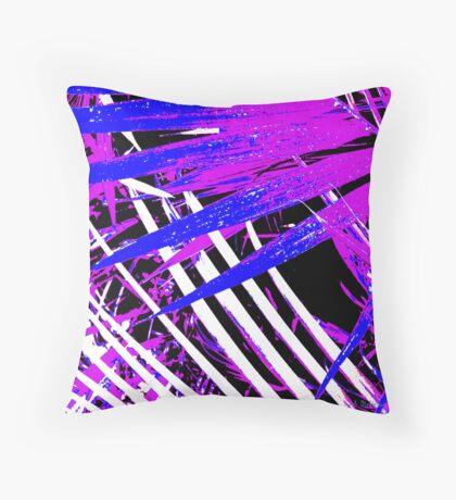Palms Away V Throw Pillow