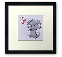 Pokemon - Espurr Poffin Framed Print